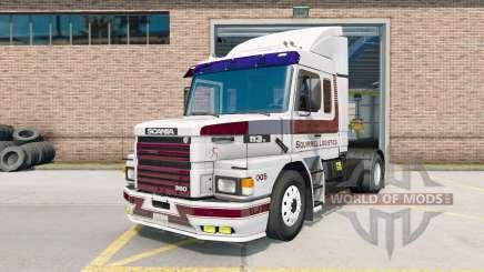 Scania T113H para American Truck Simulator