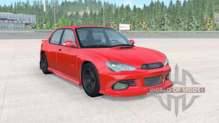 Hirochi Sunburst Sport RS v4.0.5 para BeamNG Drive