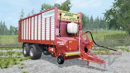 Pottinger Jumbo 6010 Combiline _ para Farming Simulator 2015