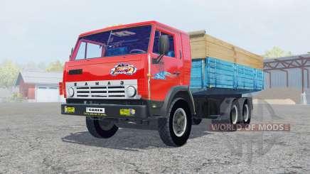 KamAZ-53212 color rojo brillante para Farming Simulator 2013