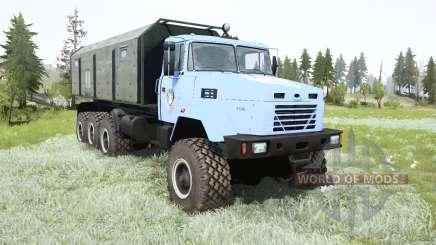 KrAZ-7140Н6 Lobo para MudRunner