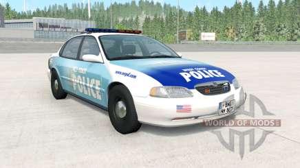 Ibishu Pessima 1996 West Coast Police v1.3.2 para BeamNG Drive