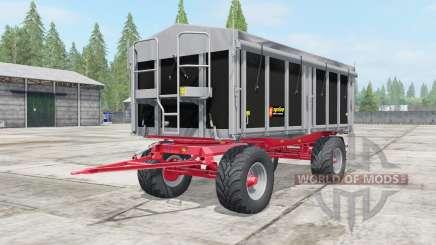Kroger Agroliner HKD 302 wide tires para Farming Simulator 2017