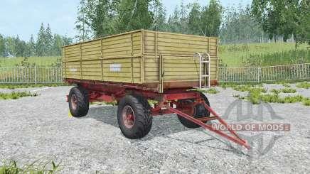 Krone Emsland ecru para Farming Simulator 2015