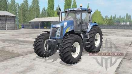 New Holland TG285 SuperSteeᶉ para Farming Simulator 2017
