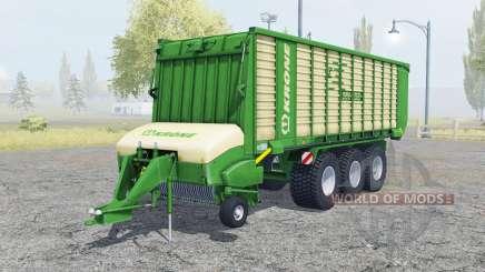 Krone ZX 550 GD north texas green para Farming Simulator 2013