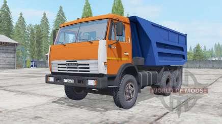 KamAZ 55111 remolque para Farming Simulator 2017