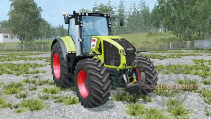 Claas Axion 950 hose attach para Farming Simulator 2015