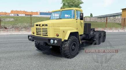 KrAZ-260V sus ruedas para Euro Truck Simulator 2