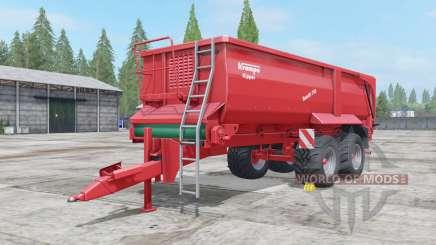 Krampe Bandit 750 low body para Farming Simulator 2017