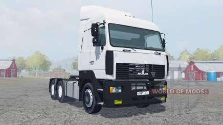 MAZ-6430 para Farming Simulator 2013
