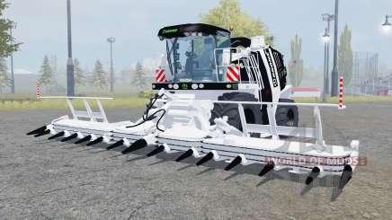 Krone BiG X 1100 black and white para Farming Simulator 2013