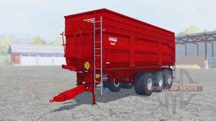 Krampe Big Body 900 S new texture silage para Farming Simulator 2013