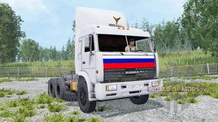 KamAZ-54115 6x4 para Farming Simulator 2015