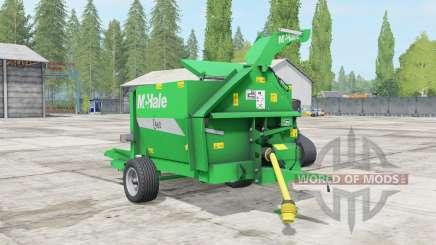 McHale C460 lime green para Farming Simulator 2017
