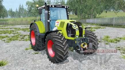 Claas Arion 650 animated element para Farming Simulator 2015
