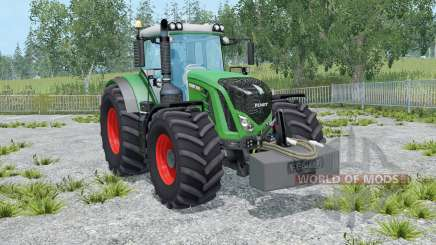 Fendt 936 Vario con weighƫ para Farming Simulator 2015