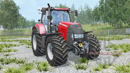 Case IH Puma 165 CVX animated front axle para Farming Simulator 2015