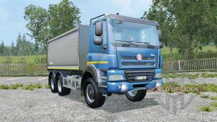 Tatra Phoenix T158 body options para Farming Simulator 2015
