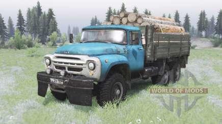 ZIL-130 de 6x6 offroad para Spin Tires