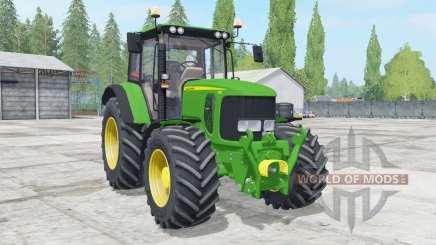 John Deere 6230 wheels configuration para Farming Simulator 2017
