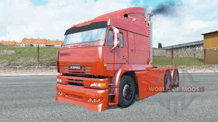 KamAZ-6460 Turbo Diesel para Euro Truck Simulator 2