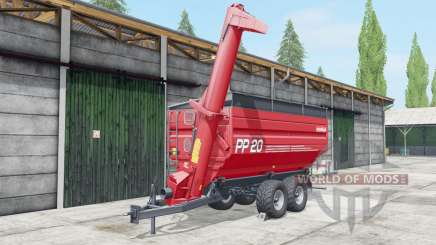 Metaltech PP 20 fertilizer para Farming Simulator 2017