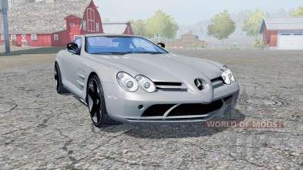 Mercedes-Benz SLR McLaren (C199) 2003 para Farming Simulator 2013