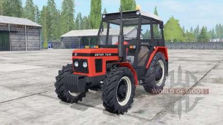 Zetor 6211-7245 configuration engine para Farming Simulator 2017