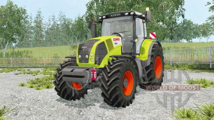 Claas Axion 850 foldable warning sign para Farming Simulator 2015