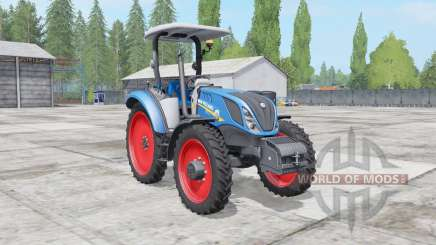 New Holland T5.100-120 2 tire types para Farming Simulator 2017