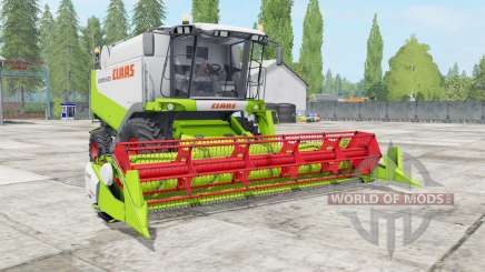 Claas Lexion 530 vivid lime green para Farming Simulator 2017