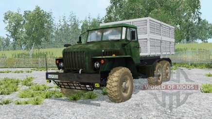 Ural-5557 y el remolque GKB-8350 para Farming Simulator 2015