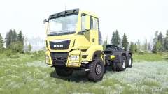 MAN TGS 33.480 para MudRunner