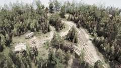 La silvicultura para MudRunner