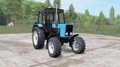 MTZ-82.1 Belarús azul Okas para Farming Simulator 2017