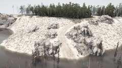 Sandy Island para MudRunner
