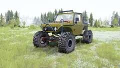Suzuki Samurai Rainforest Challenge para MudRunner