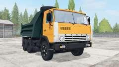 KamAZ 55111 con remolque GKB-8527 para Farming Simulator 2017