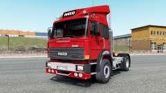 Iveco-Fiat 190-38 Turbo Special vivid red para Euro Truck Simulator 2