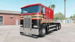 Kenworth K100E pigment red para American Truck Simulator
