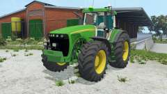 John Deere 8520 double wheels para Farming Simulator 2015