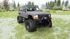 Jeep Cherokee (XJ) 1987 crawler para MudRunner