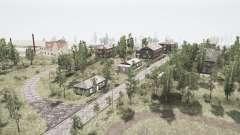 El pueblo y las montañas de los Urales 2 para MudRunner