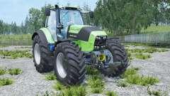 Deutz-Fahr 7250 TTV Agrotron real engine para Farming Simulator 2015
