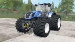 New Holland T7.290-315 wheels selection para Farming Simulator 2017