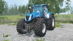 New Holland T7.270 spanish sky blue para Farming Simulator 2015
