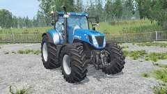 New Holland T7.270 new mirrors para Farming Simulator 2015