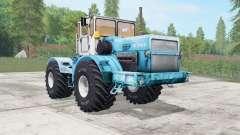Kirovets K-700A suave de color azul para Farming Simulator 2017