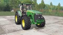 John Deere 8130-8530 real sound para Farming Simulator 2017